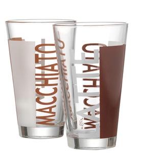 "Flirt by R & B Latte-Macchiato-Glas ""Coffeeparty"", 0,33 l"