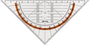 rotring Geo-Dreieck Centro mit Griff, Hypotenuse: 230 mm