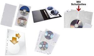 DURABLE CD-/DVD-Hülle COVER M, für 4 CD's, PP, DIN A4