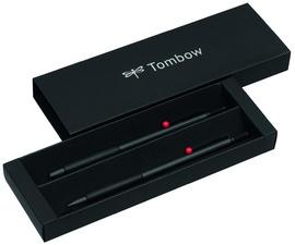 "Tombow Schreibgeräte-Set ""ZOOM 707 DE LUXE"", grau/schwarz"