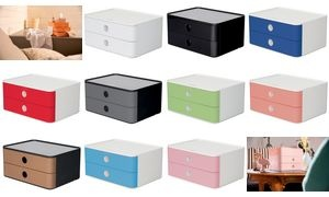 HAN Schubladenbox SMART-BOX ALLISON, stapelbar, cherry red