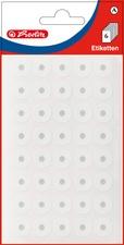 herlitz Lochverstärkungsringe, 13 mm, weiß