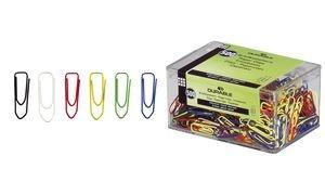 DURABLE Büroklammern, farbig lackiert, spitz, 26 mm