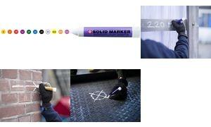 """Sakura Industriemarker """"Solid Marker"""", gelb"""