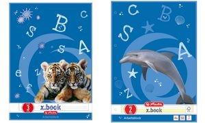 herlitz Arbeitsblock x.book, DIN A4, Lineatur 2