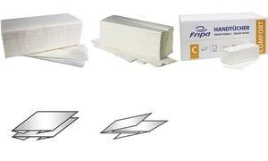 Fripa Handtuchpapier COMFORT, 250 x 330 mm, C-Falz, hochweiß