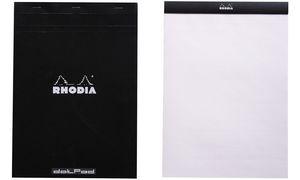 """RHODIA Notizblock """"dotPad"""", DIN A4, gepunktet, schwarz"""