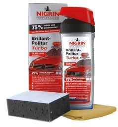 NIGRIN Performance Brillant-Politur Turbo, 500 ml