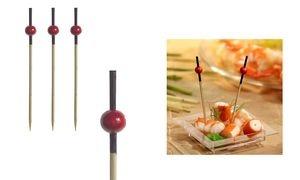 """PAPSTAR Fingerfood-Spieße """"Red Pearl"""", Länge: 70 mm"""