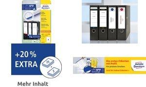 AVERY Zweckform Ordnerrücken-Etiketten, 59 x 192 mm, weiß