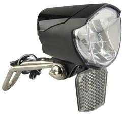 FISCHER Fahrrad-Dynamo-LED-Scheinwerfer 70 Lux