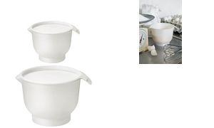 GastroMax Rührschüssel, 1,5 Liter, weiß