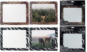 "LogiLink Mauspad mit Fotoeinschub ""Zebra"""