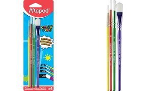 Maped Synthetikhaarpinsel-Set COLOR'PEPS, 4-teilig