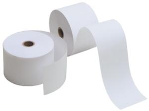 Kores Thermo-Rollen, 57 mm x 61 m x 12 mm, holzfrei, weiß