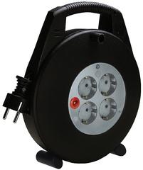 brennenstuhl Kabelbox Vario-Line, schwarz, Kabel: 5 m