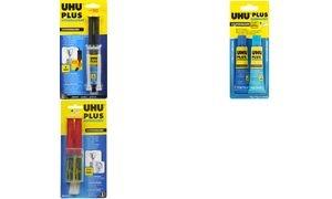 UHU 2-Komponenten-Klebstoff plus schnellfest, 27 g Doppel-