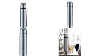 alfi Isolierflasche ISOTHERM ECO, 0,5 Liter, Edelstahl matt