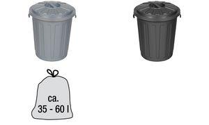 """keeeper Abfalltonne Maxi-Tonne """"mats"""", 23 Liter, graphite"""