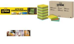 Post-it Haftnotizen Extreme Notes, 76 x 76 mm, 24er Pack