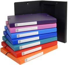 EXACOMPTA Sammelbox Opaque, aus PP, 60 mm, farbig sortiert
