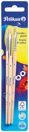 Pelikan Borstenpinsel-Set 613 F, 2-teilig, sortiert