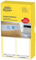AVERY Zweckform Frankier-Etiketten, 130 x 40 mm, einzeln