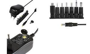LogiLink Universal-Steckernetzteil, 24 Watt / 3-12 Volt