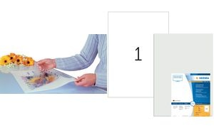 HERMA Folienetiketten, transparent, A3, 297 x 420 mm