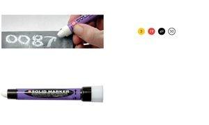 """Sakura Industriemarker """"Solid Marker Slim"""", rot"""