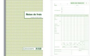 "EXACOMPTA Formularbuch ""Note de Frais"", 297 x 210 mm"