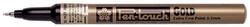 SAKURA Permanent-Marker Pen-Touch Extra Fein, gold
