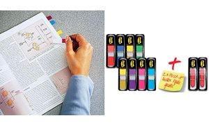 Post-it Haftmarker Index Mini, 11,9 x 43,2 mm, 8-farbig