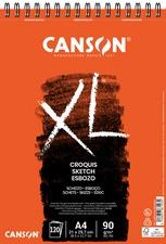 "CANSON Skizzen- und Studienblock ""XL"", DIN A4, 90 g/qm"