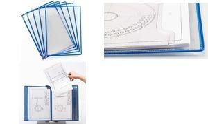 tarifold Drehzapfentafel Fold'up, DIN A4, blau