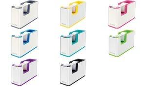 LEITZ Tischabroller WOW Duo Colour, bestückt, violett