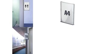 "PAPERFLOW Beschilderungssystem ""Cinatur"", DIN A4, anthrazit"