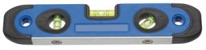 HEYTEC Wasserwaage, Kompakt, 3 Libellen, Länge: 230 mm