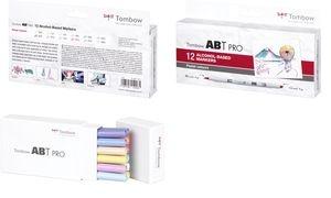 Tombow Marker ABT PRO, alkoholbasiert,12er Set Pastel Colors