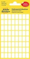AVERY Zweckform Vielzweck-Etiketten, 38 x 29 mm, weiß, KP