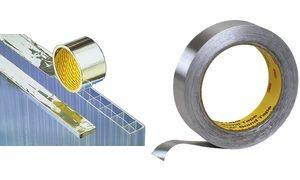 3M Weich-Aluminium-Klebeband 1436F, 50 mm x 50 m