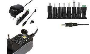 LogiLink Universal-Steckernetzteil, 12 Watt, 3-12 Volt