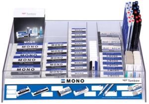 "Tombow Radierer ""MONO"", sortiert, 98er Display"
