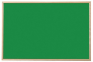 Bi-Office Kreidetafel, Naturholz, grün, 600 x 400 mm