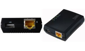 DIGITUS Mini Multifunktions Printserver, 1 x USB 2.0