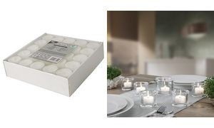 PAPSTAR Teelichter, Durchmesser: 38 mm, weiß