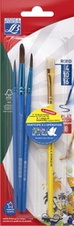 LEFRANC & BOURGEOIS Haarpinsel-Set PONY + 1 Borstenpinsel