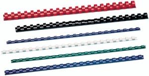 GBC Plastikbinderücken CombBind, DIN A4, 14 mm, blau