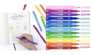 "Tombow Doppelfasermaler ""TwinTone"" Rainbow, orange"