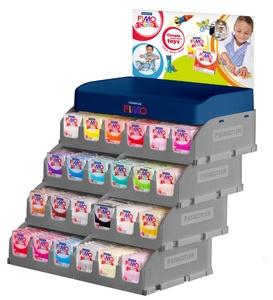 FIMO kids Modelliermasse, ofenhärtend, 384er Display